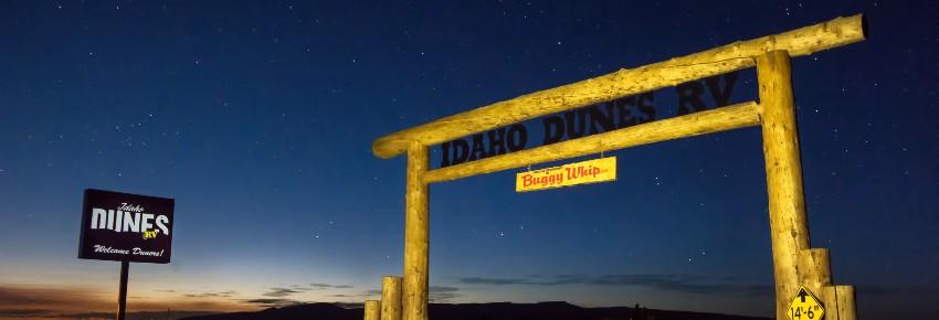 Idaho Dunes RV Park at the St  Anthony Sand Dunes
